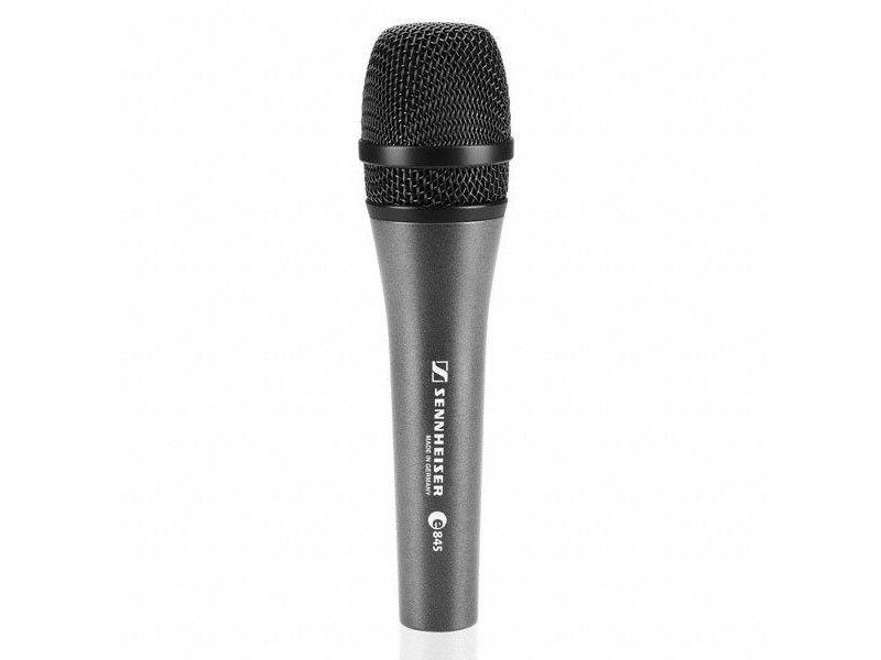 Mikrofon, žični, E 845 S, dinamički, sa sklopkom - Sennheiser