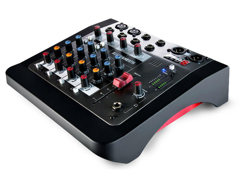 Mikseta, ZED6, 4 mono kanala/2 mono + 2 stereo, balansirani izlazi, 4 inserta - Allen & Heath