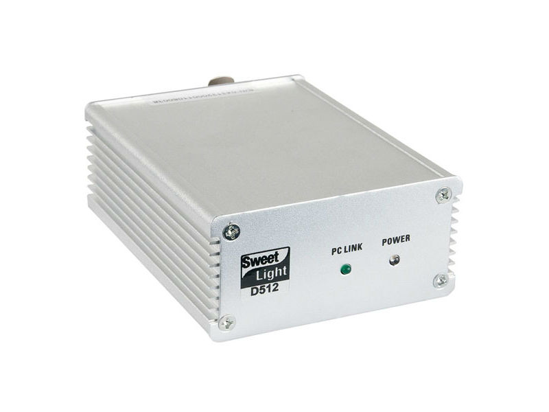 USB kontroler Sweetlight D512, 512 DMX kanala