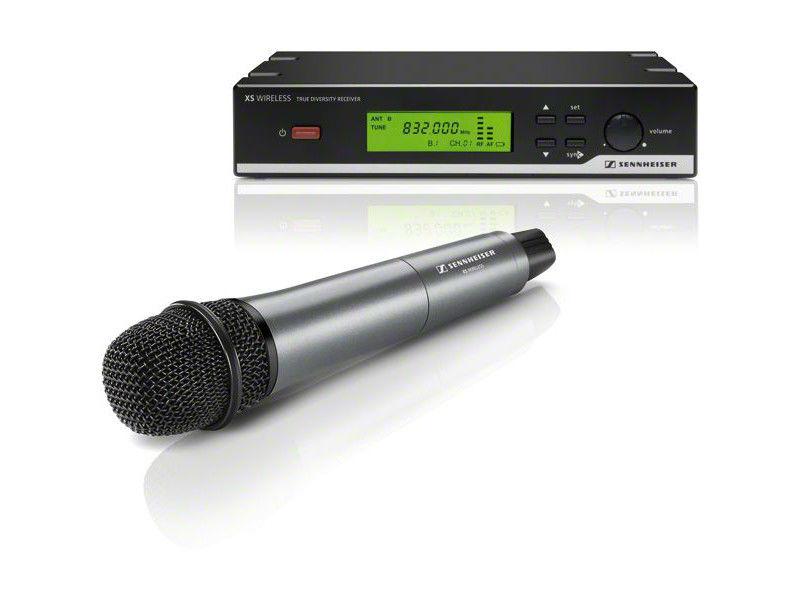 Vocal-Set mit je 1x : EM 10, SKM 35 (dynamisch, Niere) und MZQ 1, 614-638 MHz - Sennheiser