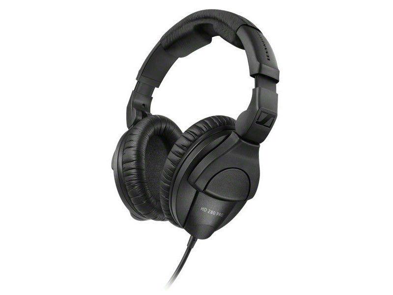 Slušalice, HD280 PRO, Hi-Fi Stereo, kabel 3 m, adapter 6,3 mm, crne - Sennheiser