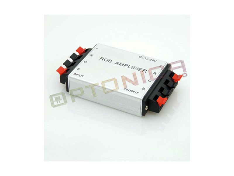 POJAČALO ZA LED TRAKU RGB, 12V-24V, 144W-288W - Optonica