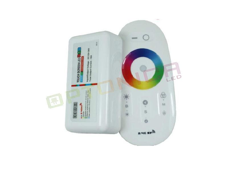 KONTROLER  + DALJINSKI ZA RGB+W TRAKU 4CH*6A - Optonica
