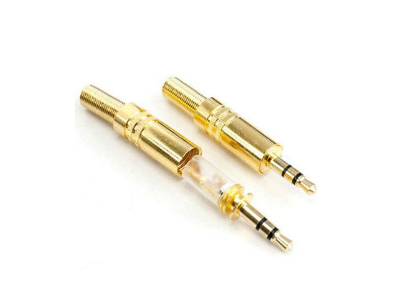 Konektor, za kabel, mala banana 3,5mm, stereo