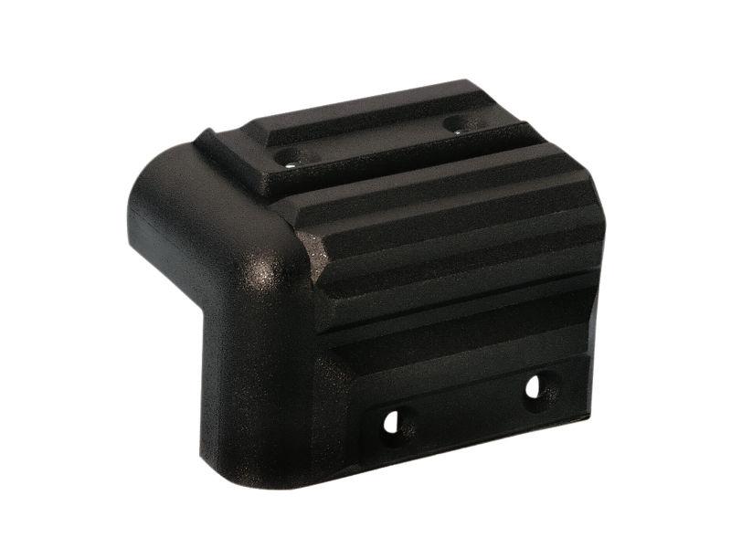 Kutnik, plastični, za kabinete, crni, 41 x 57 mm - Adam Hall