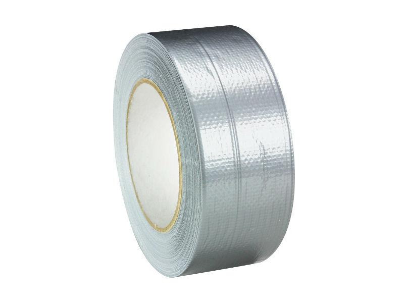 Ljepljiva traka za binu, srebrna, 50 mm x 50 m, Gaffer - Adam Hall