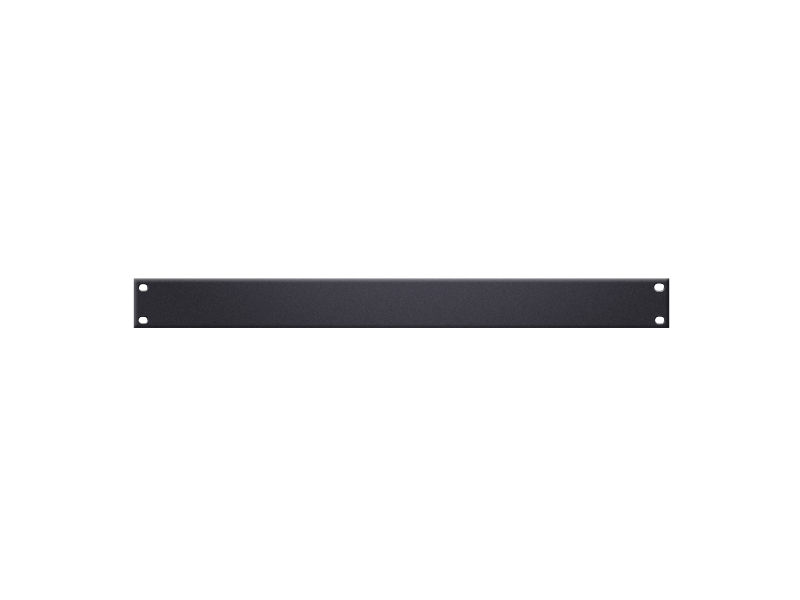 "Rack panel, U-oblik, 19"", 1 U, crni - Adam Hall"