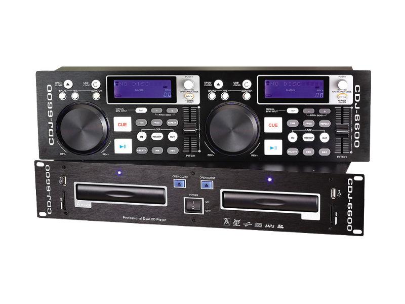 CD player, dvostruki, USB/SDcard MP3, Anti-shock - X-Audio