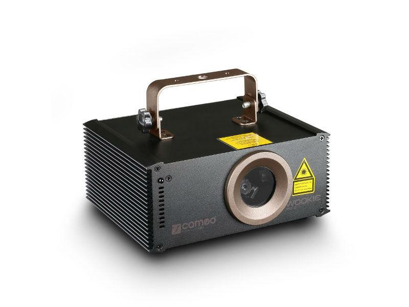 Laser, WOOKIE 150G, DMX, 150mW, zeleni - Cameo