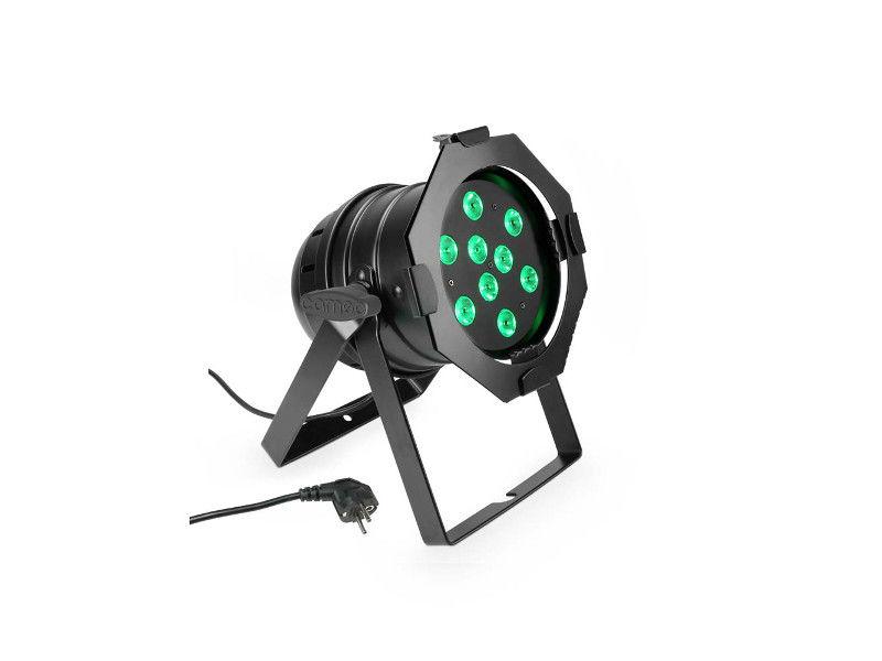 LED reflektor PAR 56, 9 x 3 W, RGB, crni - Cameo