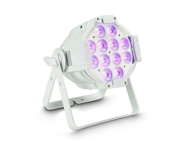 LED reflektor Studio PAR 64, 12 x12W, RGBWA+UV, bijeli - Cameo