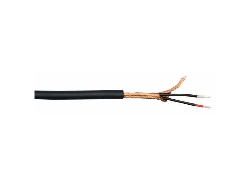 Kabel, mikrofonski MC-226B, crni, Double Isolation - DAP