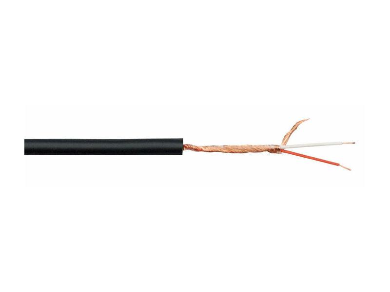 Kabel, mikrofonski, MC-206B, crni, 6 mm - DAP