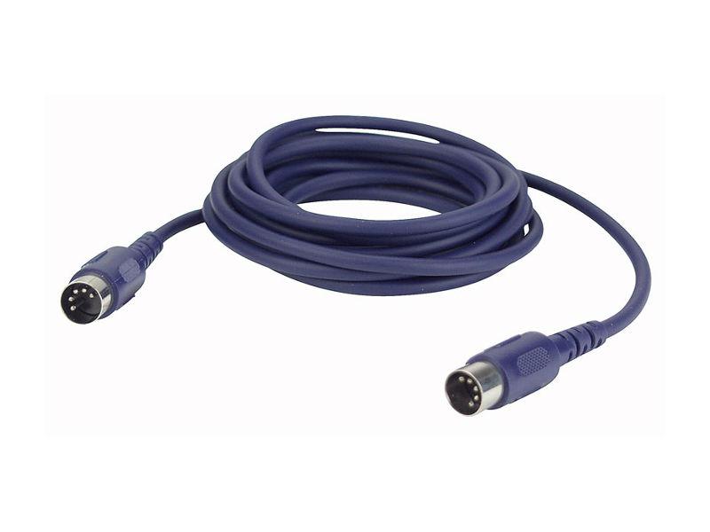 Kabel, gotovi, MIDI, DIN 5 p 3-pin, 6 m - DAP