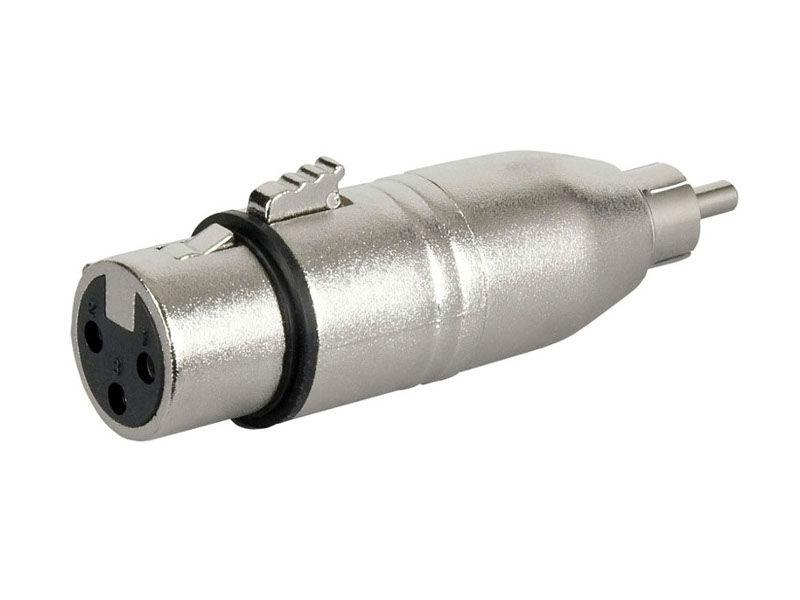Adapter, XLR Ž na RCA M - DAP