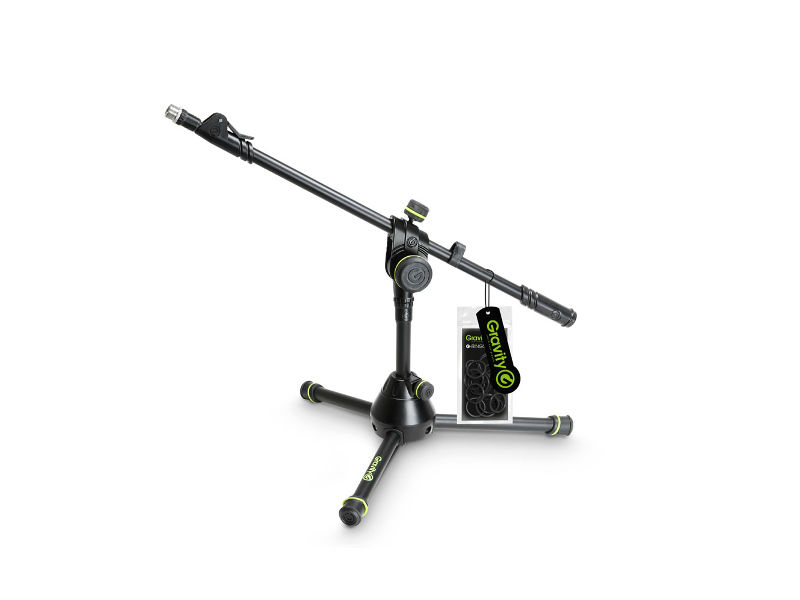 Stalak za mikrofon, mali, tri noge, teleskopsko podešavanje - Gravity