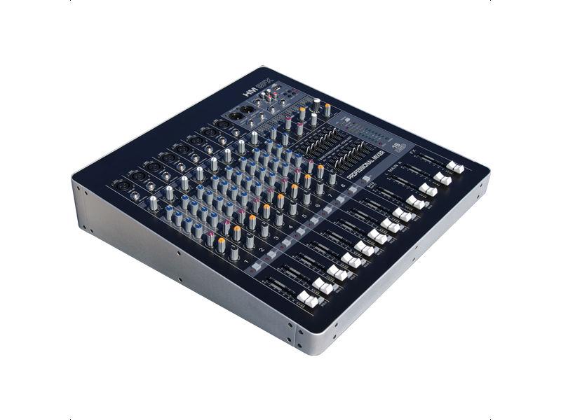 Mikseta HM-8, 8 XLR + 1 stereo ulaz, efekt - X-Audio