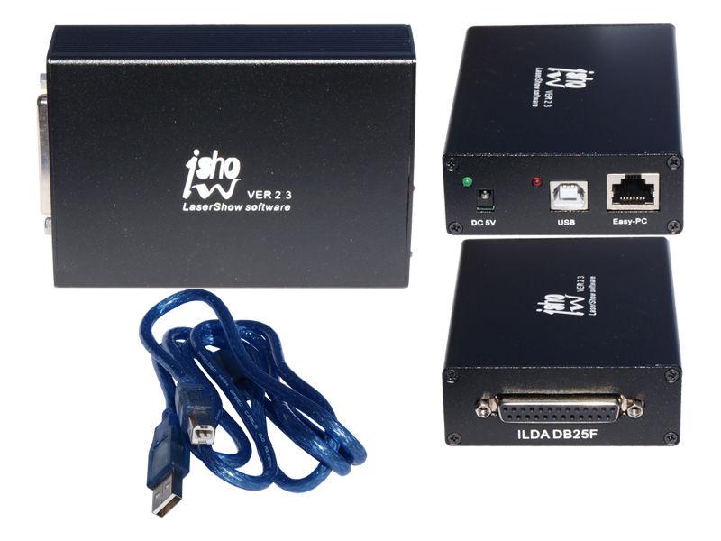 Profesionalni software za laser iShow, ILDA