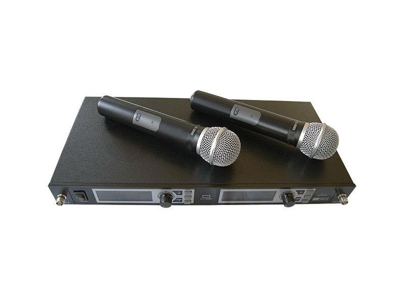 Mikrofon, bežični UHF set 2 mikrofona  freq. 600-960MHz
