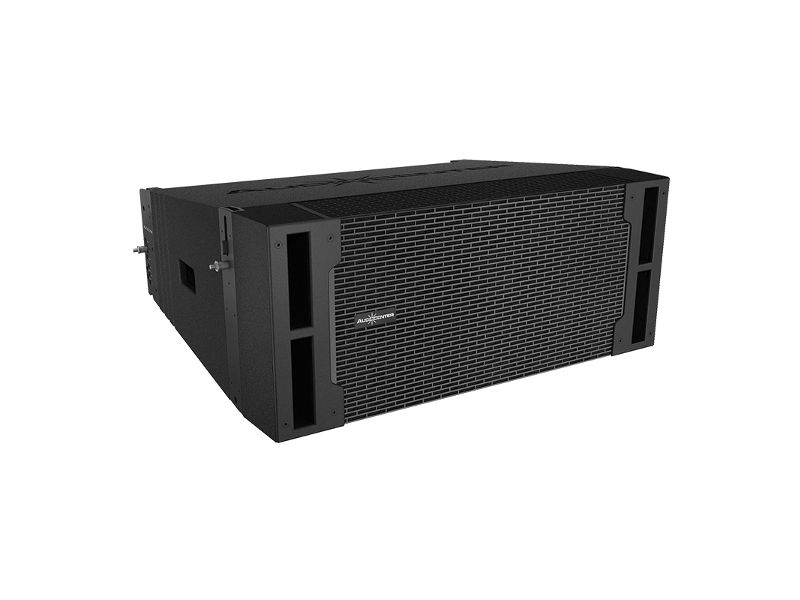 "Zvučna kutija, dual, 10"", 700 W (HF)/70 W (LF) RMS, pasivna, Line Array, 2 way - Audiocenter"
