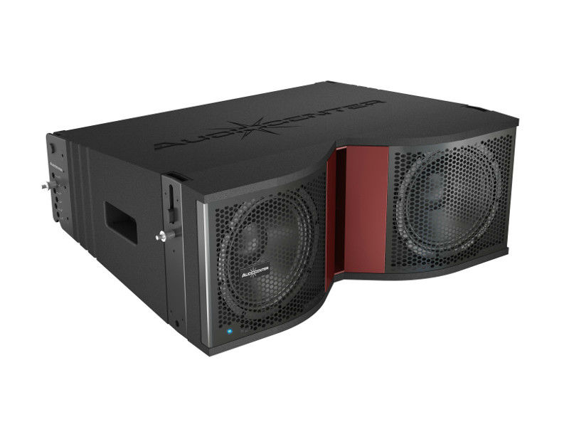"Zvučna kutija, dual 8"", 1600 W RMS, aktivna, Line Array 3 way, sa DSP-om - Audiocenter"