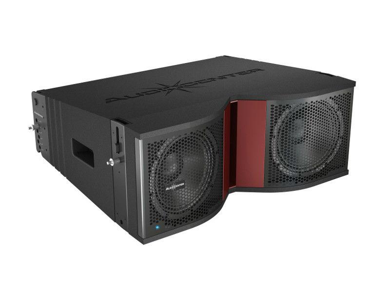 "Zvučna kutija, dual 8"", 1600 W RMS, aktivna, Line Array 3 way, sa DSP-om - Audiocenter -AKCIJA"