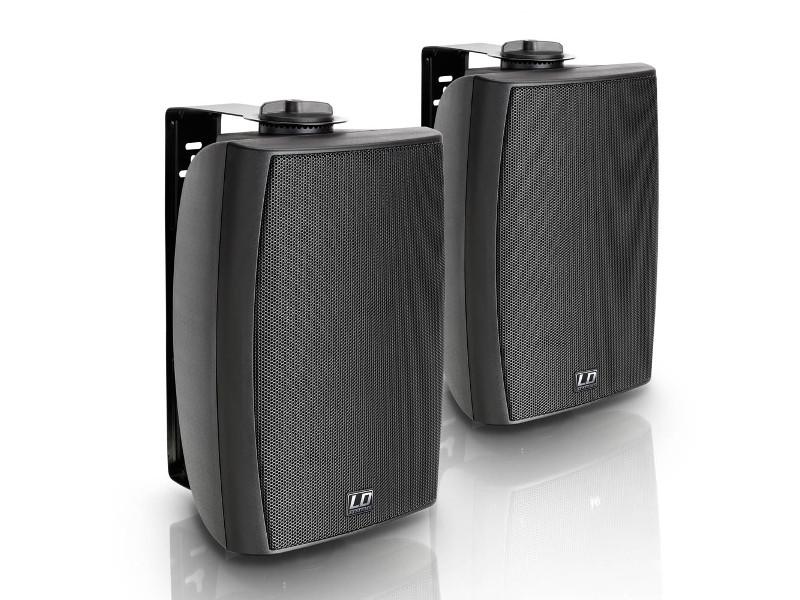 """Zvučna kutija Contractor CWMS52B, 100 V, 5.25"""", 2-way, 30 W, crni (par) - LD Systems - AKCIJA"""