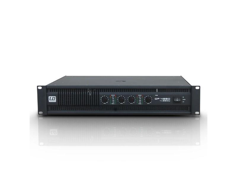 Pojačalo DEEP2 Series, 4x810 W 4 Ohma, 4x490 W 8 Ohma - LD Systems