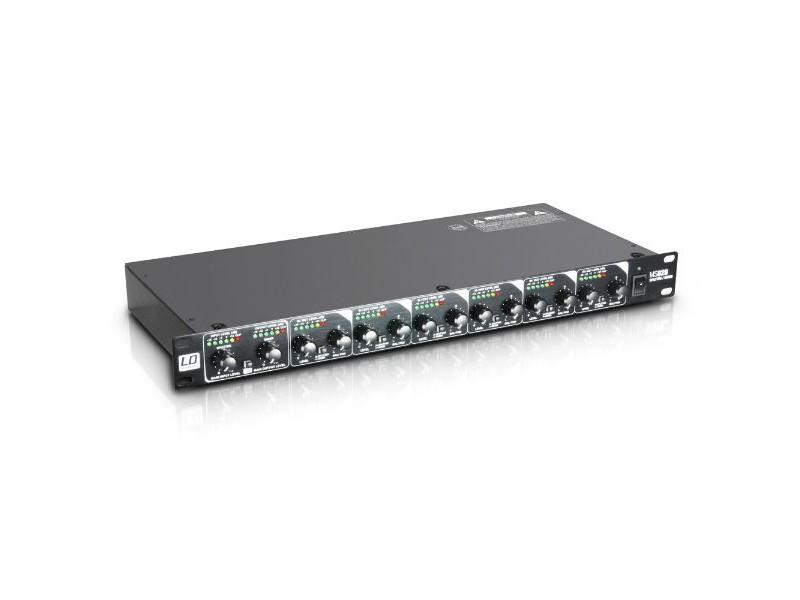 """Spliter / mikser, MS828, 19"""" 8-kanala - LD Systems"""
