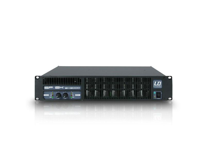 Pojačalo LDSP4K, PA 2x1950 W 2 Ohma - LD Systems