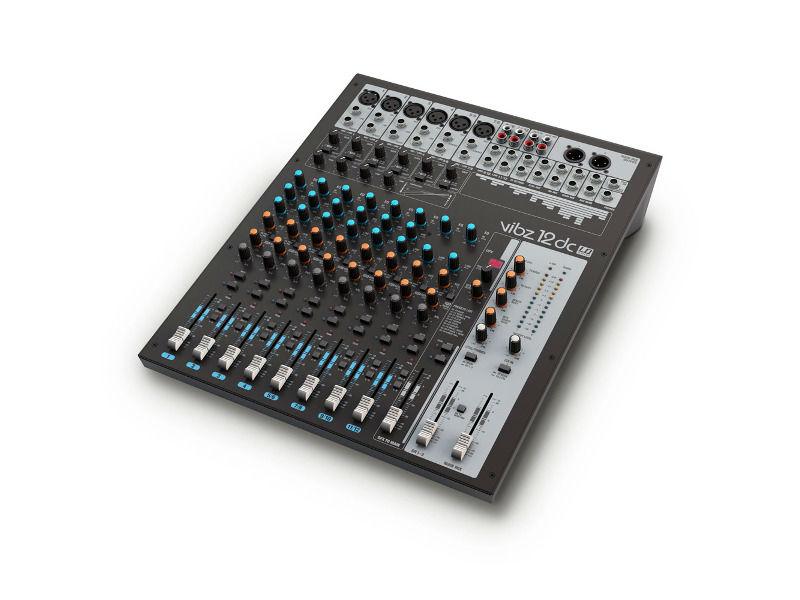 Mikseta, 12 kanala, sa DFX i kompresorom, VIBZ12DC - LD Systems