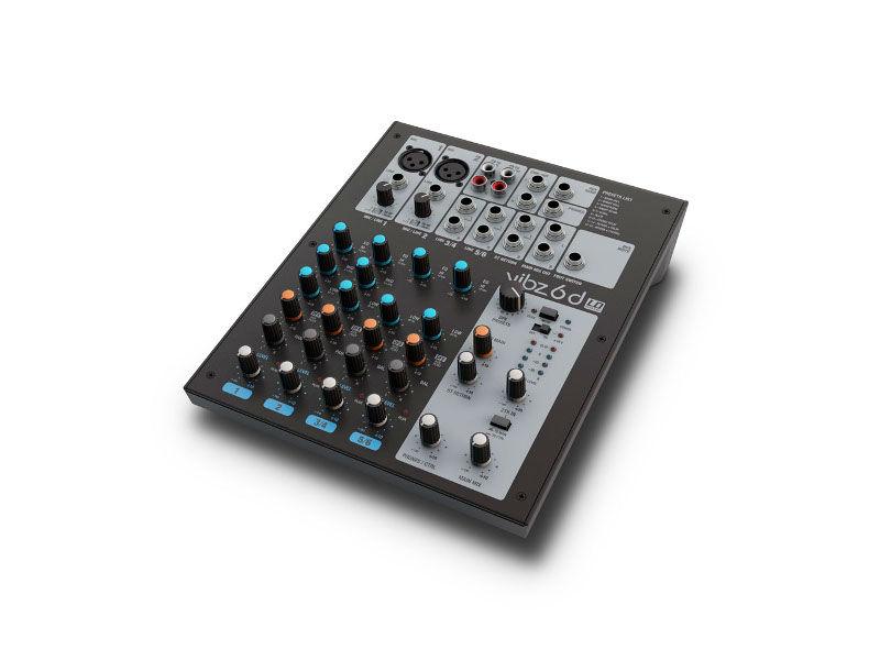 Mikseta VIBZ6D, 6 kanala, s DFX-om - LD Systems