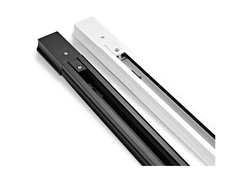 Šina za track sistem, 2 m, bijela