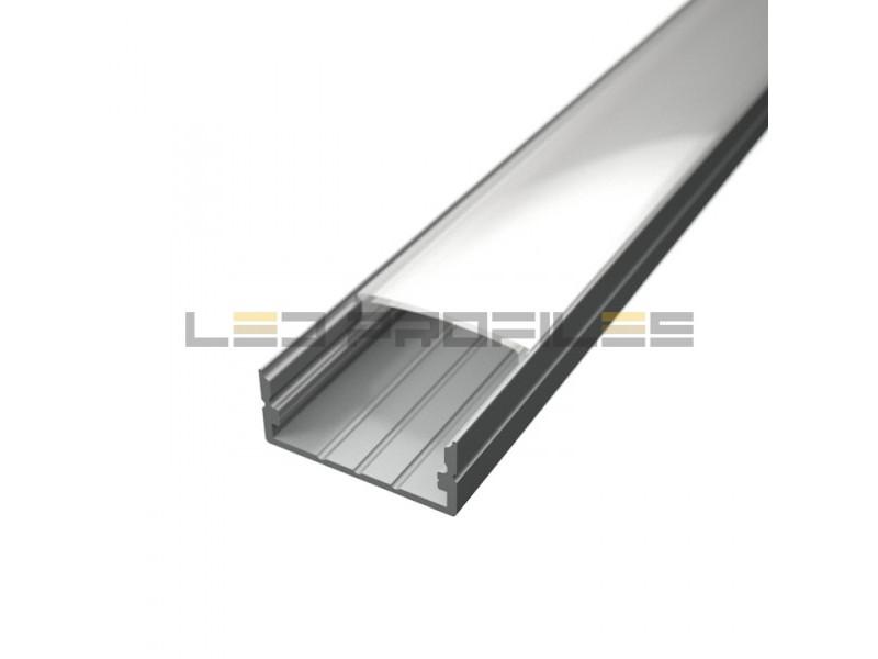 LED profil, Surface 3, mliječni pokrov, 2 m