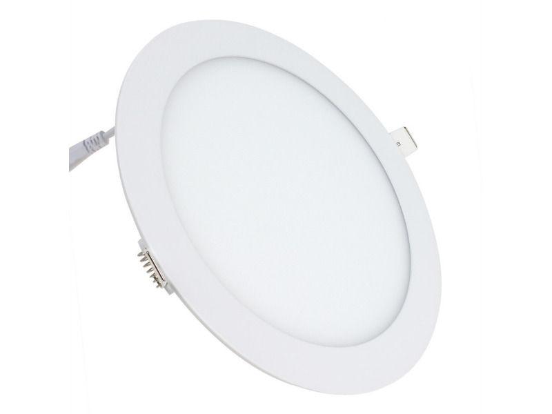 LED panel, okrugli 6W topla bijela - DDO