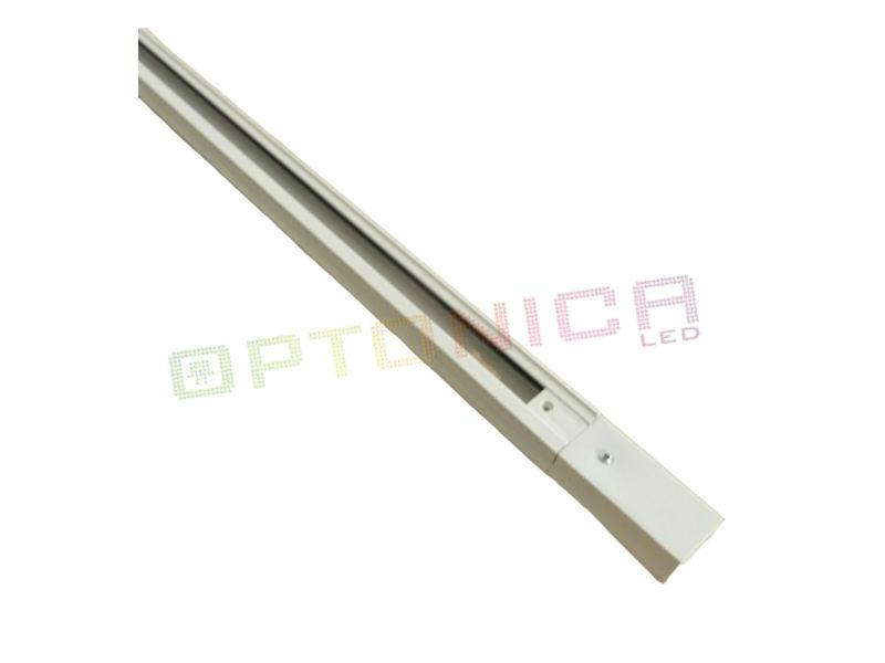 Šine za track sistem, bijele, 1 m - Optonica
