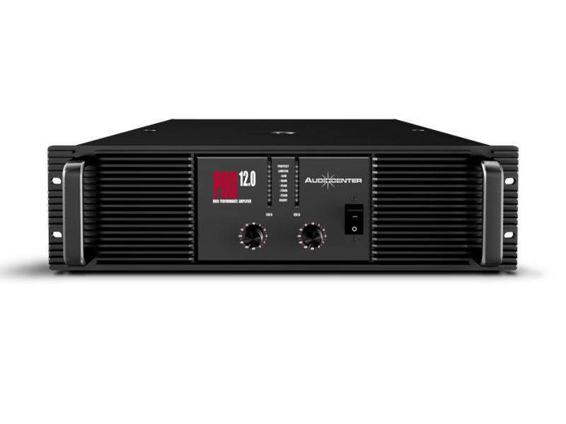 Pojačalo PRO12.0, 2 × 1200 W@8ohm stereo, 2 × 1800 W@4ohm stereo, 2ohm stereo stable - Audiocenter