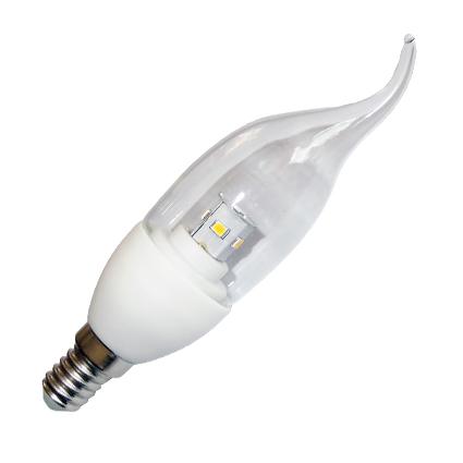 LED žarulja, E14, 4 W/220 V, topla bijela, dimabilna - Optonica