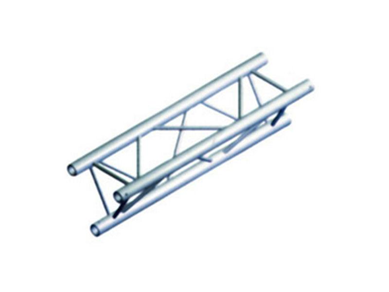 Alu konstrukcija, trokutasta, ravna, 0,5 m, 29 cm, stijenka 2 mm + spajalice - Miloš systems