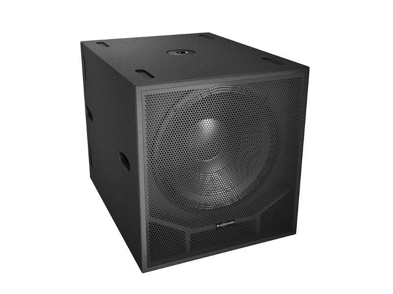 "Zvučna kutija, single, 18"", 1000 W RMS, pasivna, subwoofer - Audiocenter"