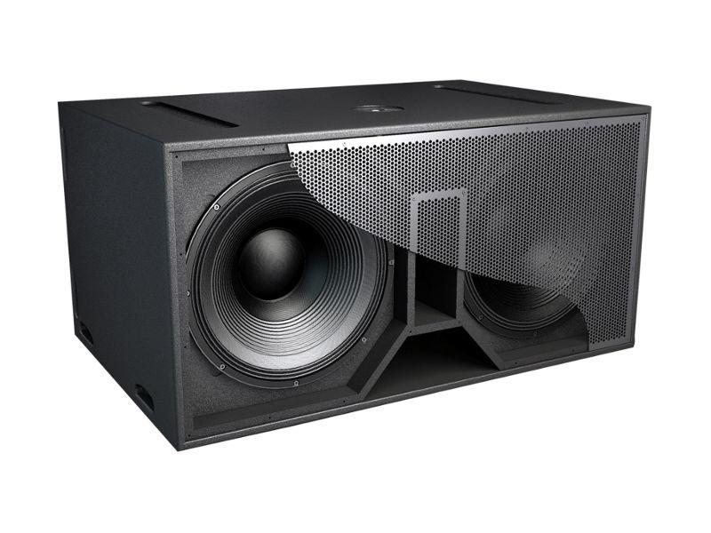 "Zvučna kutija, double, 18"", 1000 W RMS, pasivna, subwoofer - Audiocenter"