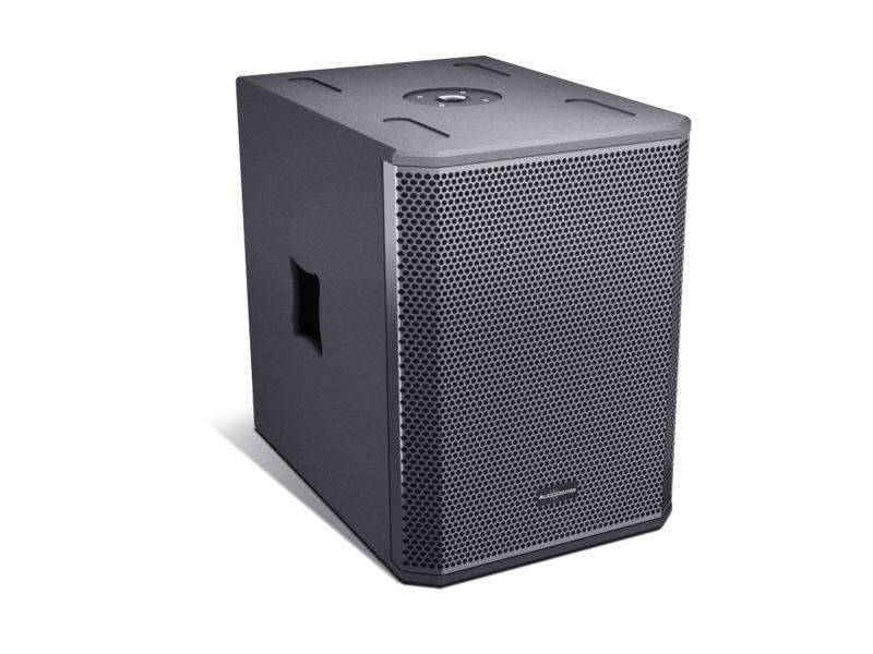 "Zvučna kutija, single, 12"", 1200 W RMS, aktivna, DSP, subwoofer - Audiocenter"
