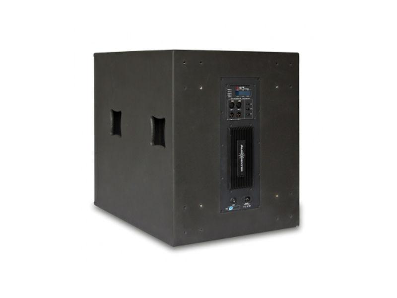 "Zvučna kutija, single, 18"", 1200 W RMS, aktivna, DSP, subwoofer - Audiocenter"