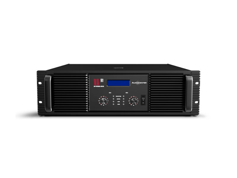 Pojačalo VA 901, 2×800 W@8Ohm stereo, 2×1200 W@4Ohm stereo, 2ohm stereo stable - Audiocenter