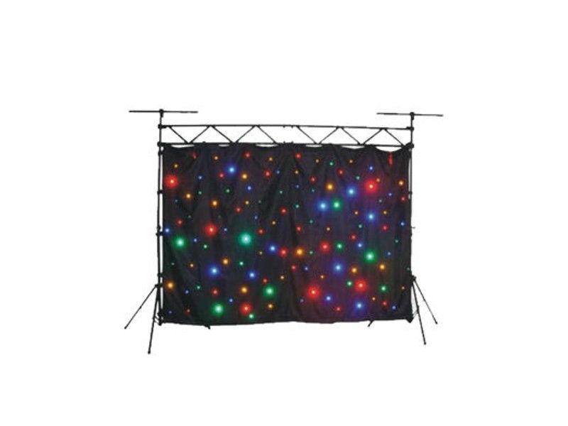 LED platno, RGB, 144 ledice, 2 x 3 m