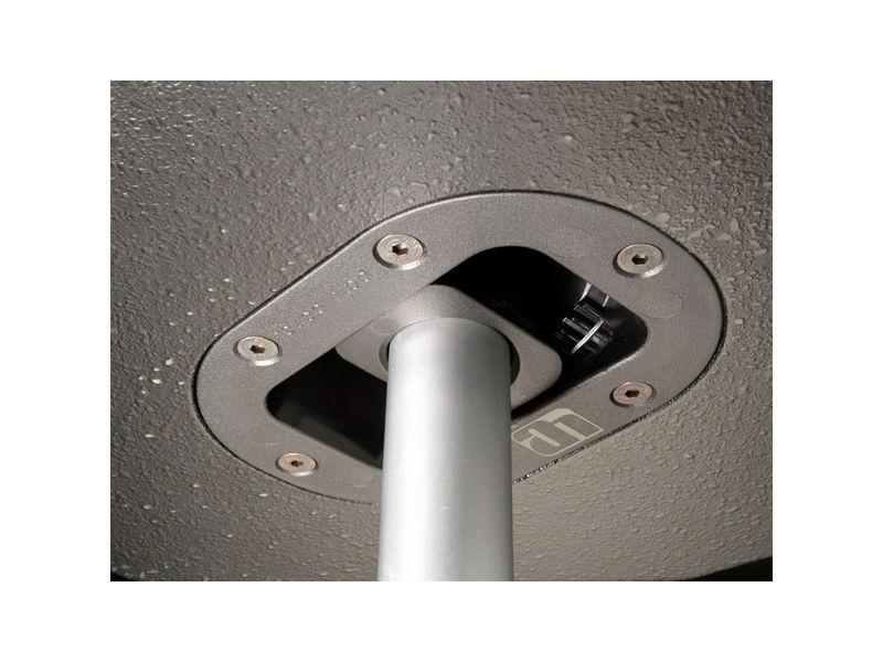Adapter za zvučnički stalak, 35 mm, ugradbeni,  sa kutom 13,5° – Adam Hall