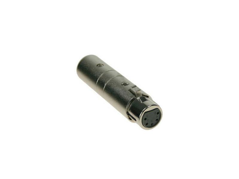 Adapter 3-pin XLR muški / 5-pin XLR ženski – Adam Hall