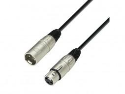 Gotovi kabel mikrofonski, XLR ženski na XLR muški, 0,5 m – Adam Hall