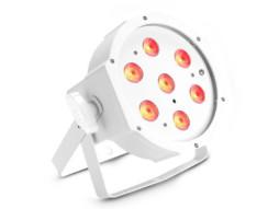 LED reflektor PAR, 7x4W RGBW, IR, bijelo kućište, flat – Cameo