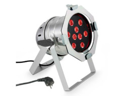 LED reflektor PAR 56, 9x8W RGBW, srebrni – Cameo